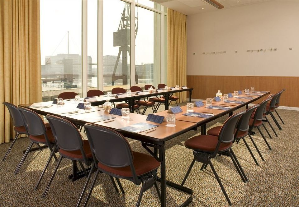 chair conference hall function hall meeting classroom restaurant set conference room dining table