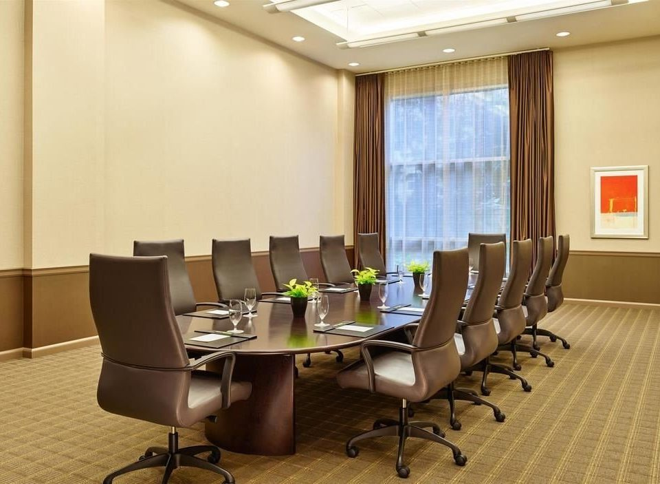 chair conference hall waiting room office meeting classroom convention center conference room