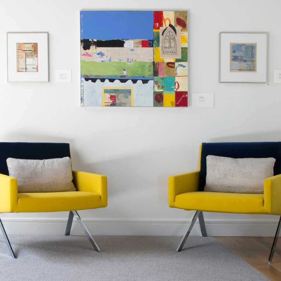 color living room yellow modern art product home couch chair