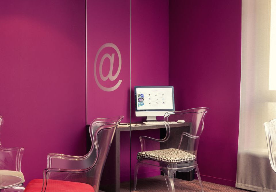 color pink chair red lighting living room dining table