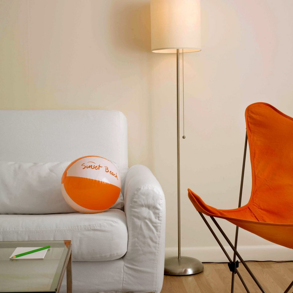 color orange yellow living room product chair lighting modern art seat