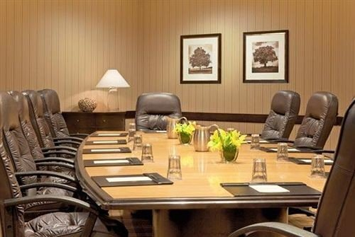 chair property conference hall living room meeting condominium leather dining table