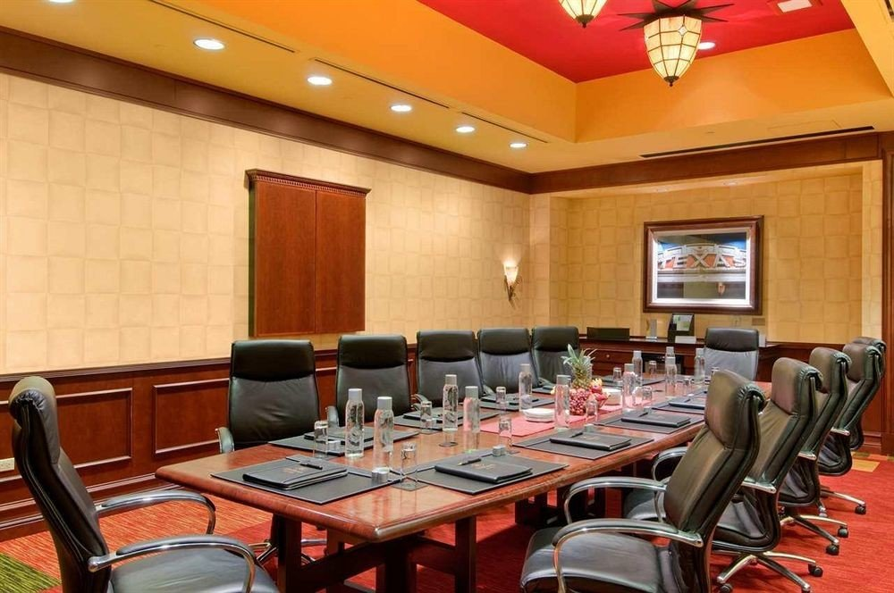 chair conference hall function hall meeting convention center restaurant conference room