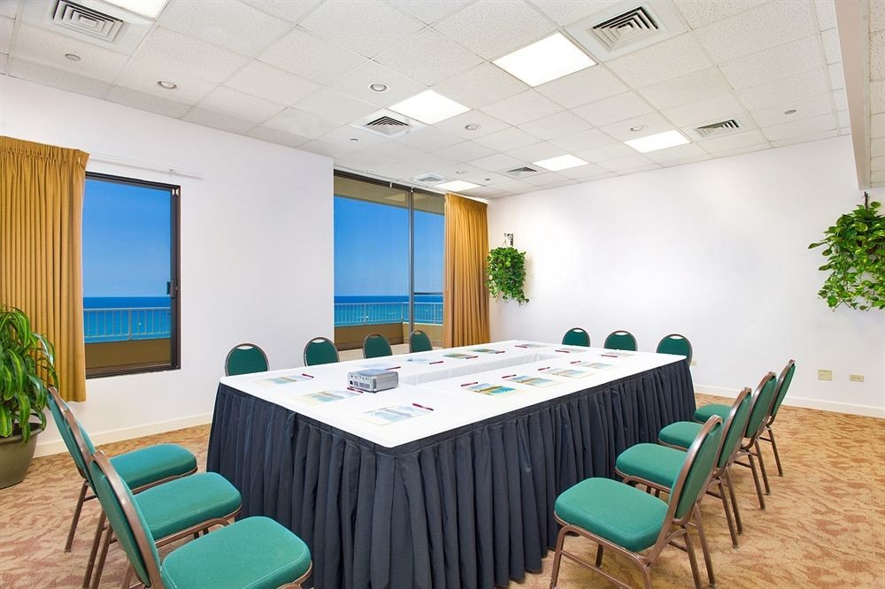 chair conference hall function hall convention center meeting restaurant waiting room