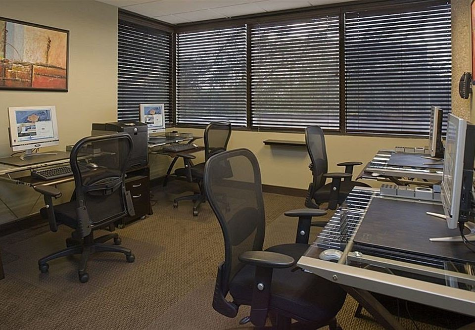 desk chair office conference hall