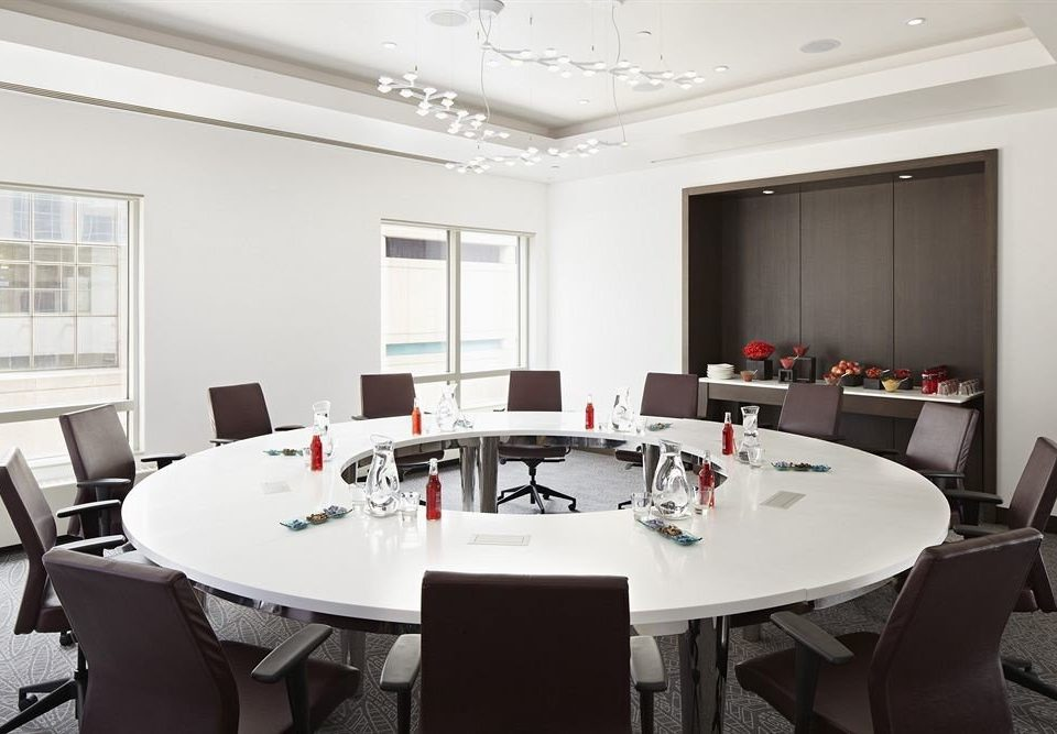 chair conference hall dining table