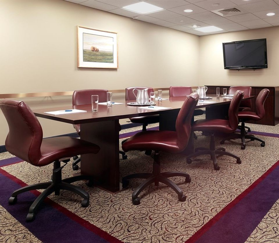 chair conference hall recreation room office waiting room dining table