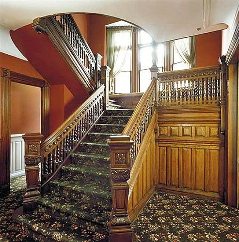 stairs chair property hardwood mansion home flooring wood flooring cottage