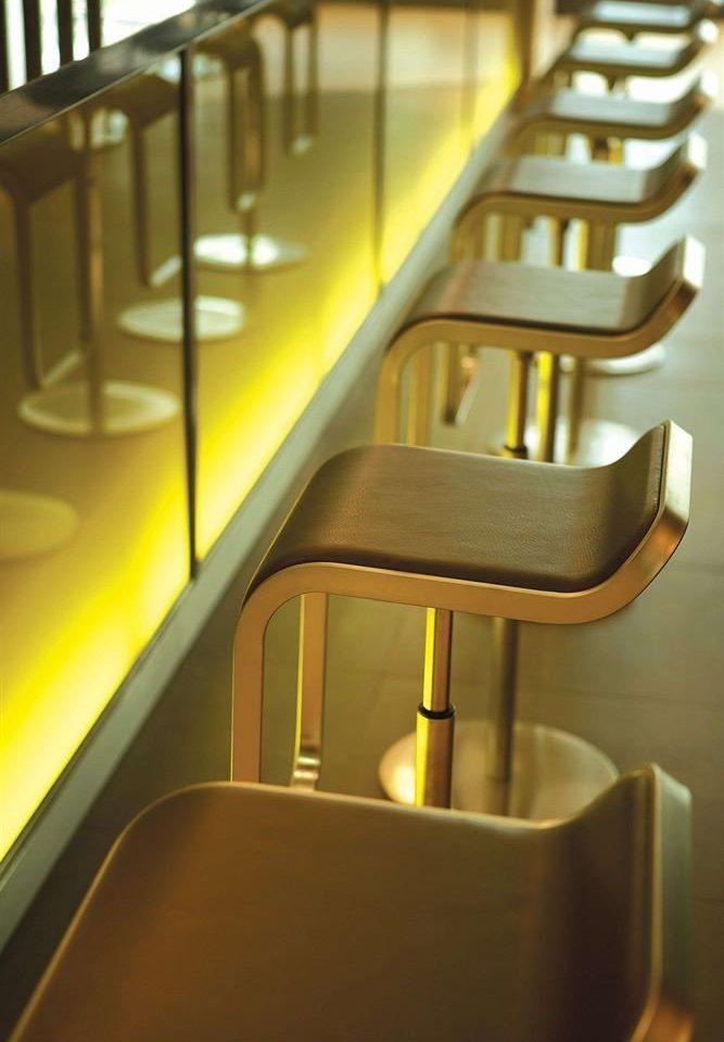 stairs chair light handrail lighting daylighting glass