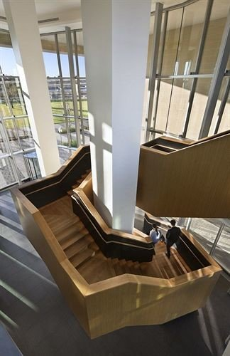 chair wooden stairs product daylighting