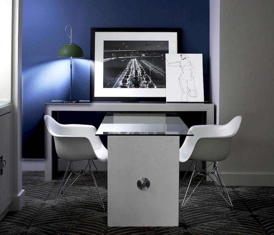desk living room office chair desktop computer set