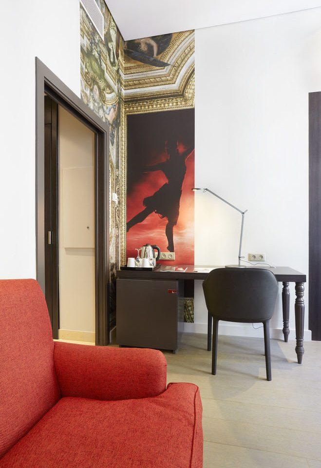 red chair living room modern art home flooring