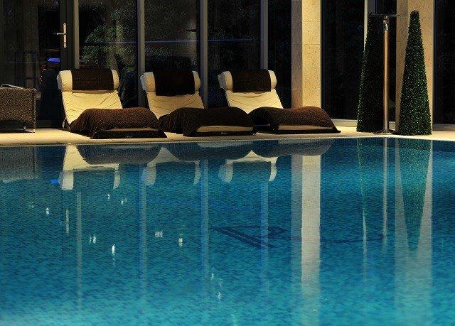 chair swimming pool light lighting flooring