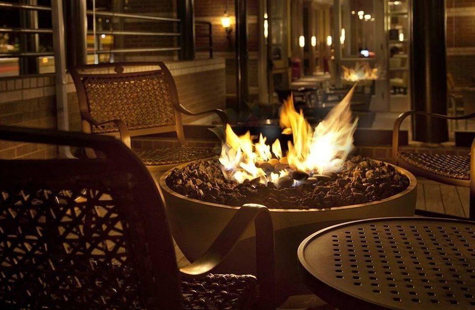chair lighting restaurant food