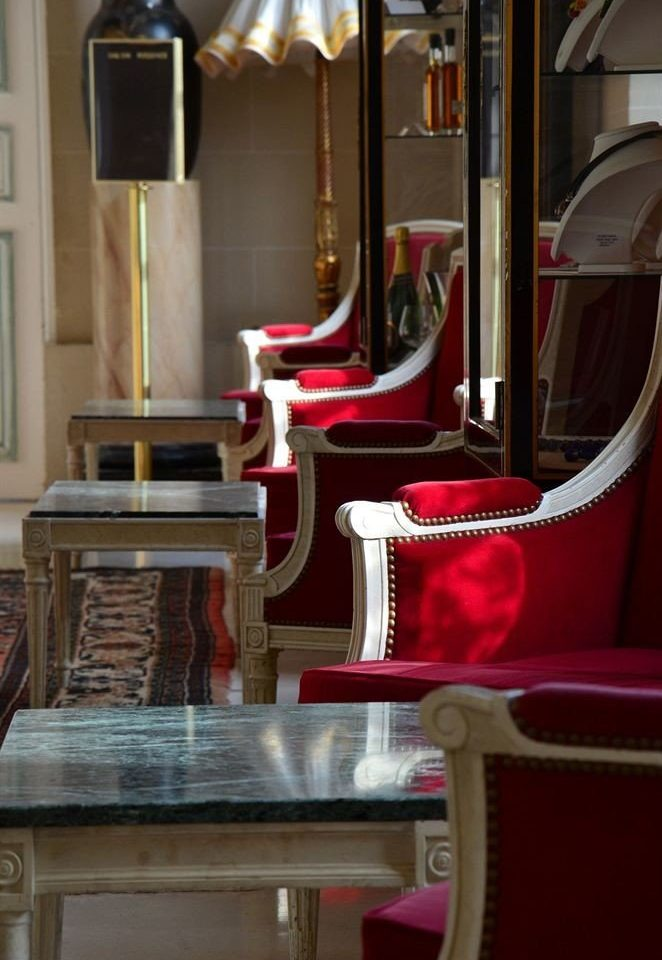 red chair living room home tourist attraction