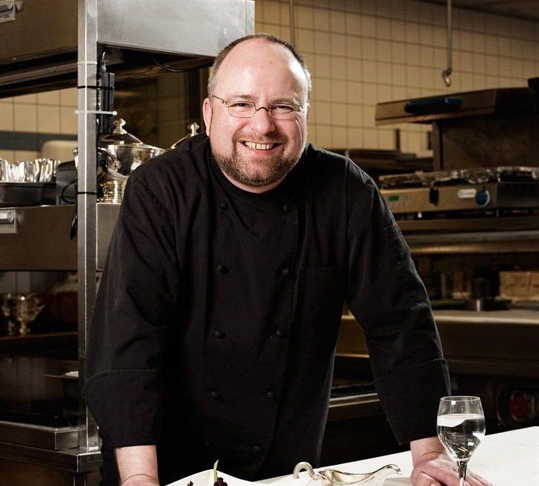 man professional chef sense restaurant profession cook preparing