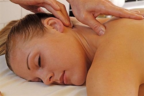 face massage muscle mouth chest