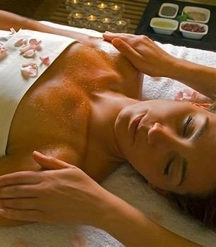 face massage muscle chest