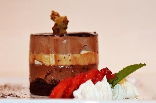 food plate dessert chocolate cake piece slice cuisine square piece de resistance