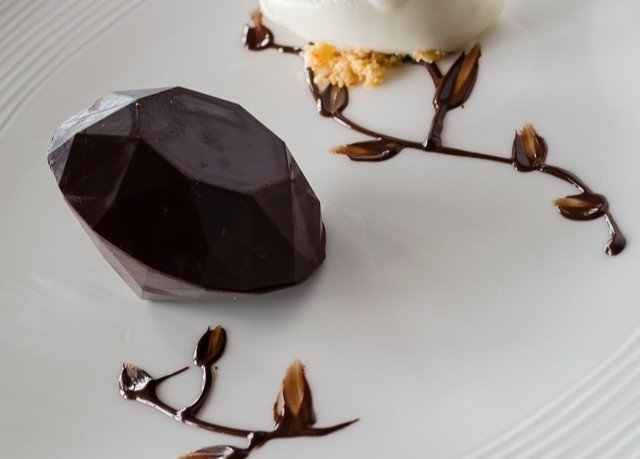 food dessert chocolate flower coconut