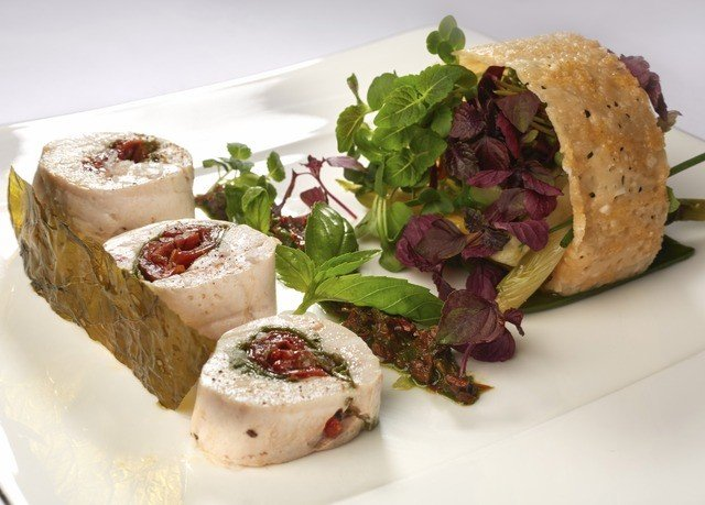 plate food cuisine meat hors d oeuvre white sense chocolate square snack food