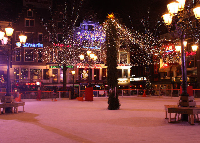building night light Christmas christmas decoration christmas lights evening