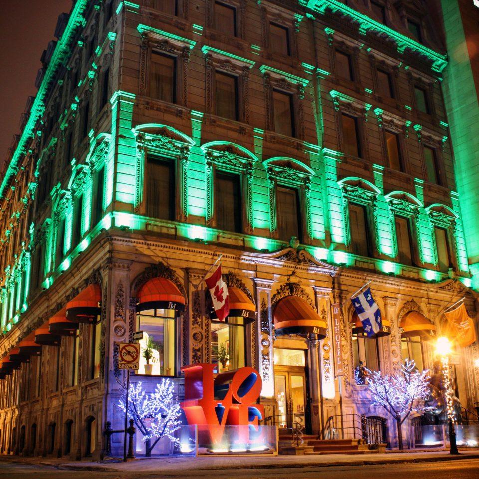 building street night landmark light City christmas decoration Downtown evening Christmas christmas lights bright