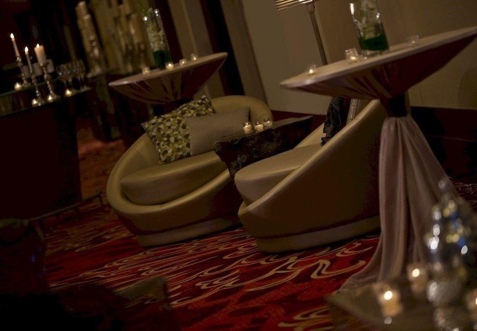 restaurant Christmas dining table