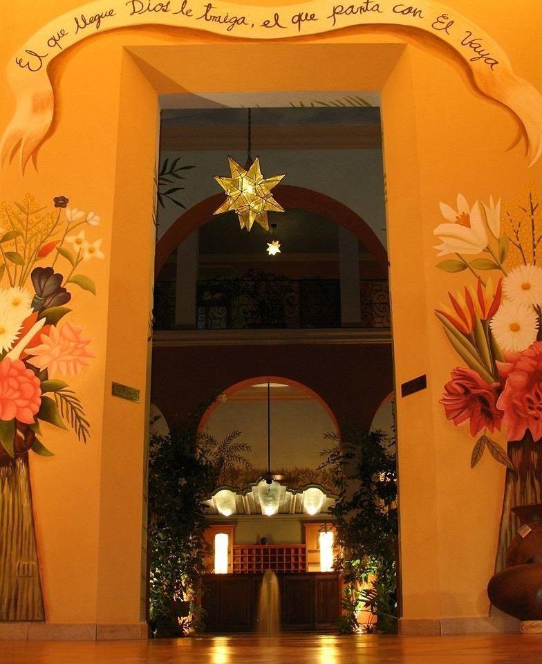 flower plant arch floristry altar Lobby Christmas