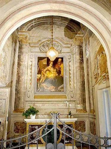 building altar basilica Church chapel place of worship palace cathedral ancient history baptistery stone