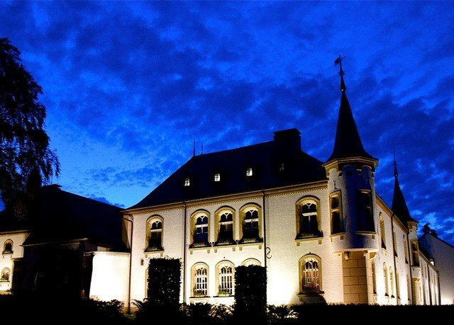 building sky house night Church evening place of worship chapel mansion monastery