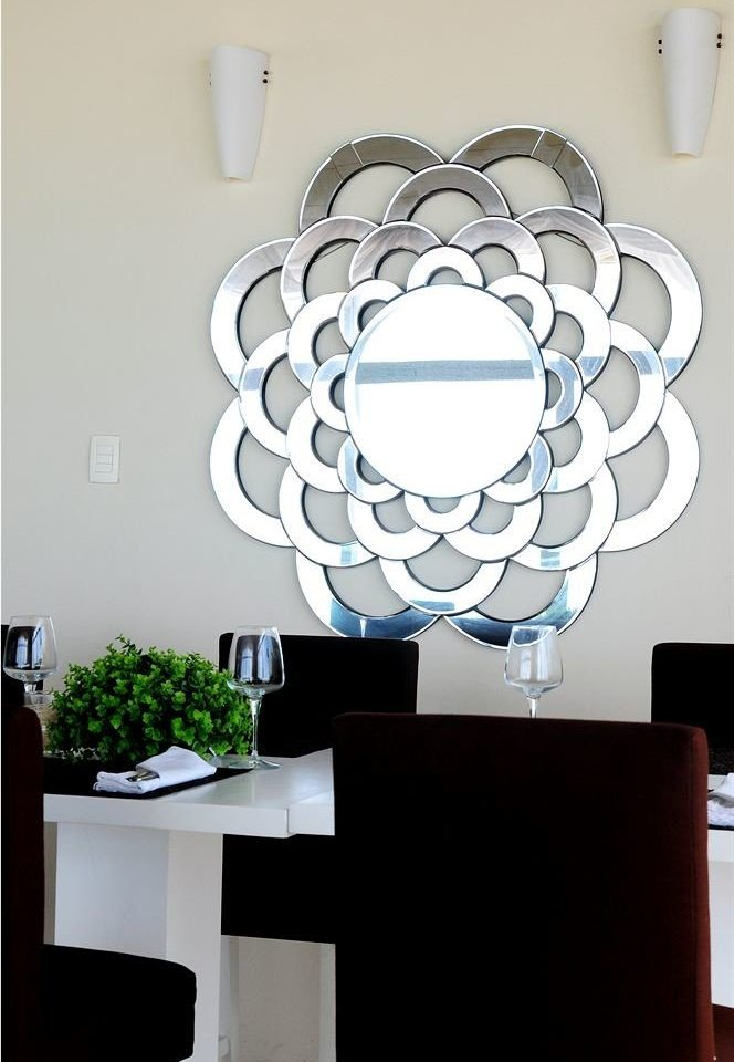 white modern art product lighting light fixture circle living room glass illustration