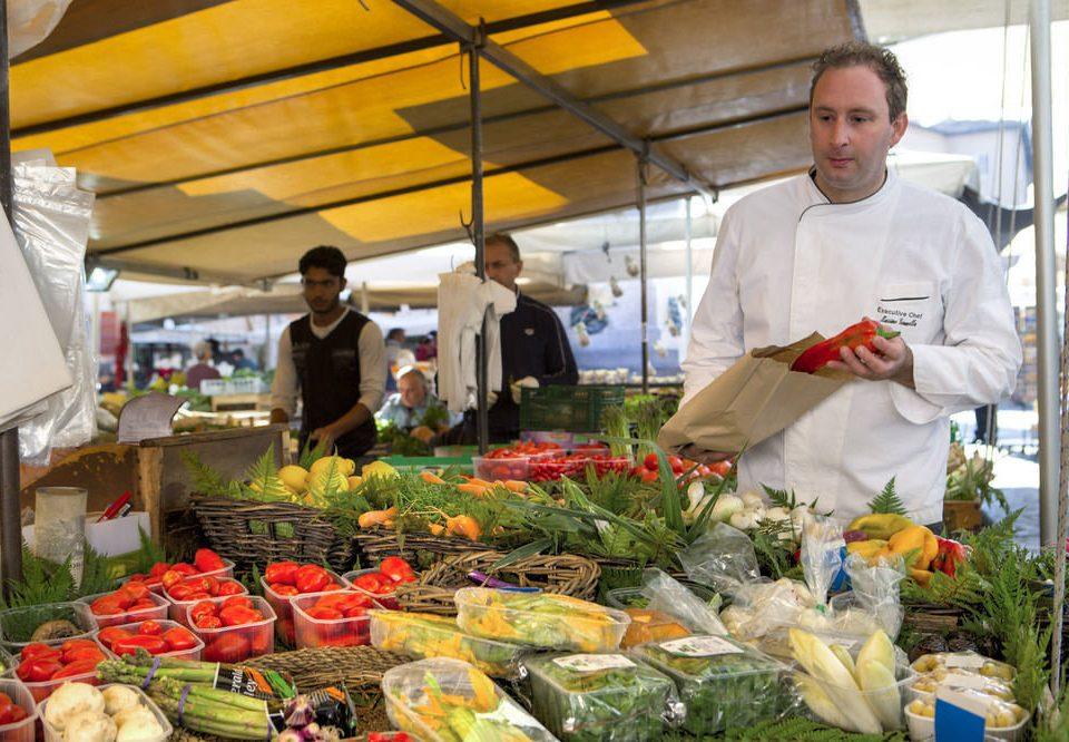 food marketplace local food City public space market vendor vegetable floristry greengrocer sense grocery store fresh buffet