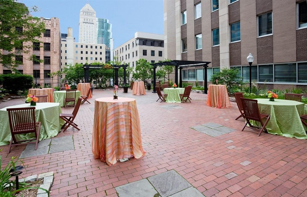City Classic Patio ground property condominium brick Courtyard plaza Resort sidewalk backyard home restaurant hacienda outdoor structure Villa palace yard mansion walkway stone