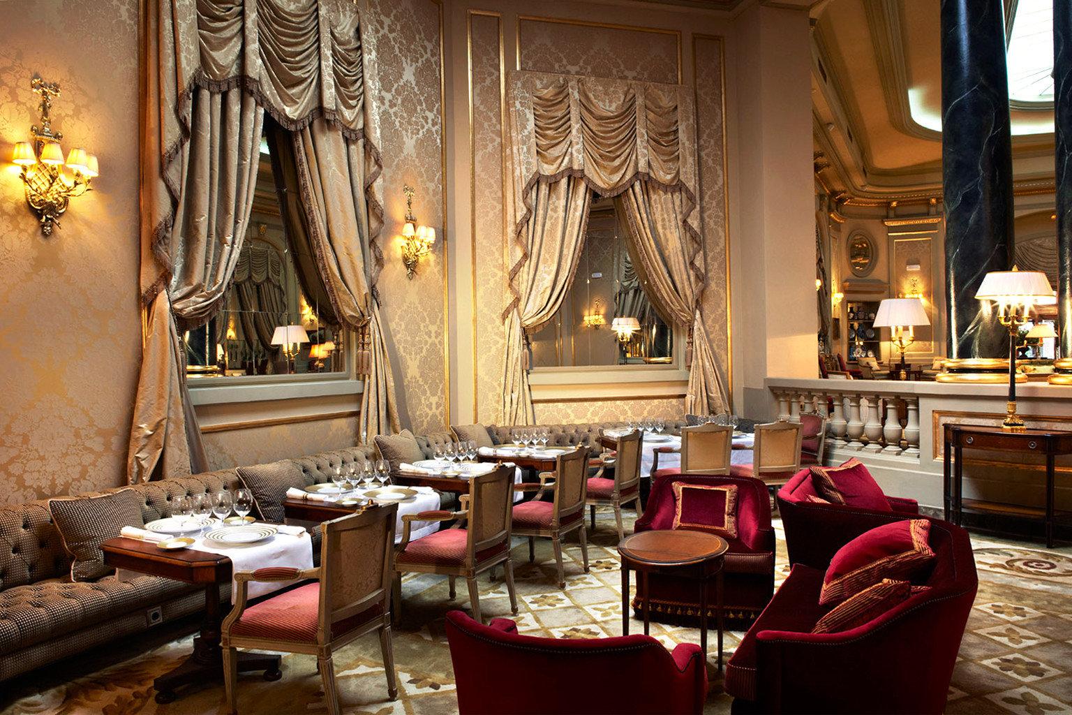 City Classic Dining Drink Eat Elegant Luxury Romantic chair restaurant Lobby palace living room function hall ballroom