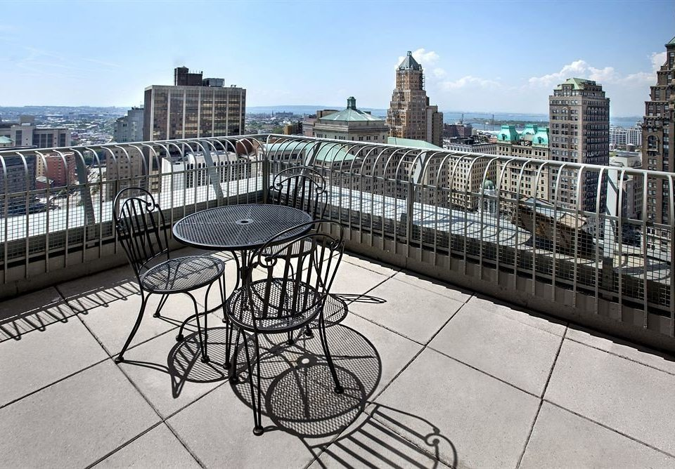City Classic Family Rooftop sky building plaza walkway Downtown condominium town square cityscape outdoor structure