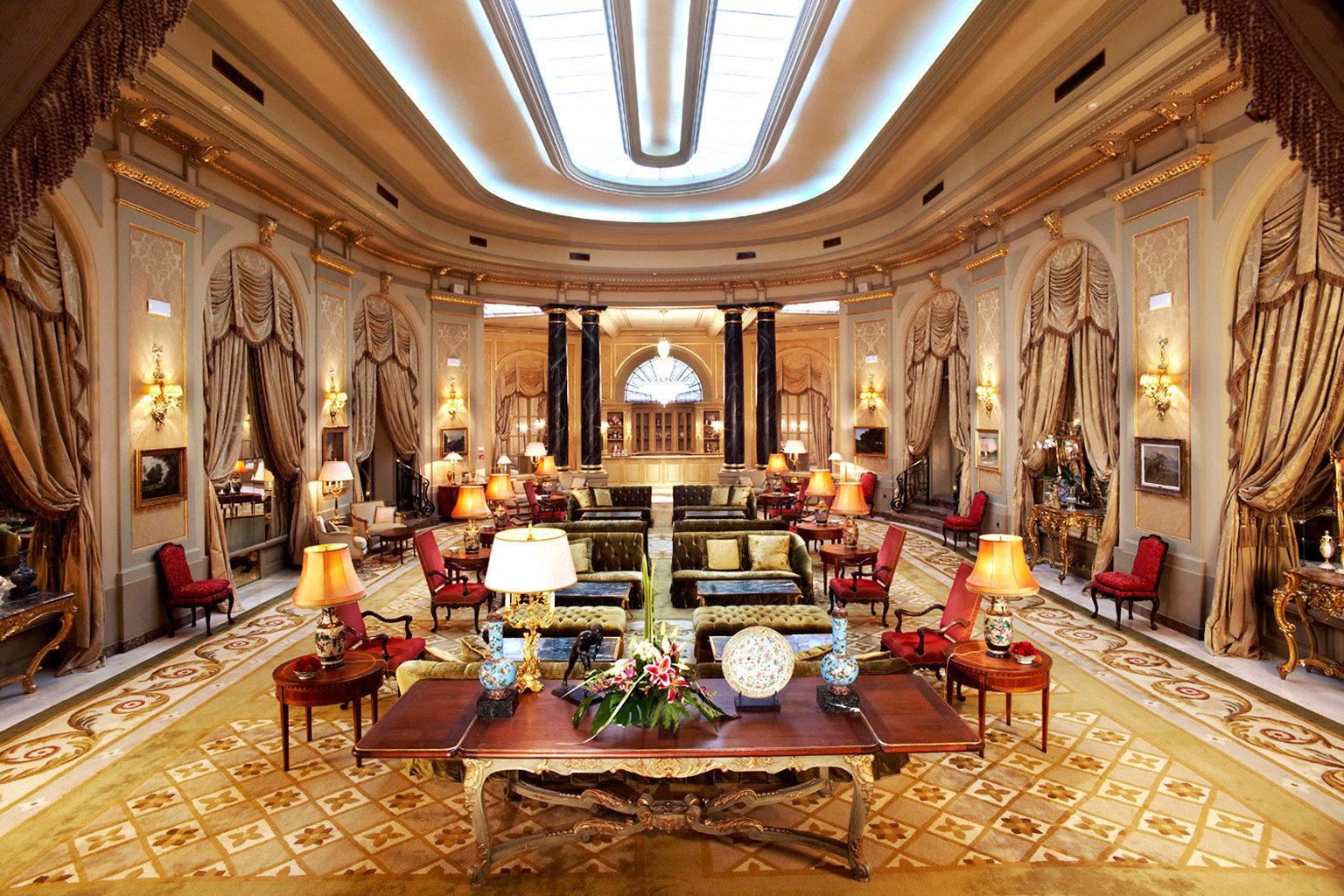 City Classic Elegant Lobby Lounge Luxury Romantic building palace function hall ballroom mansion
