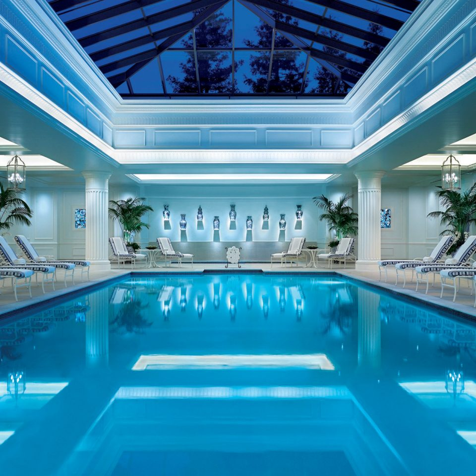 City Classic Elegant Luxury Pool Spa Wellness swimming pool blue leisure leisure centre Resort convention center