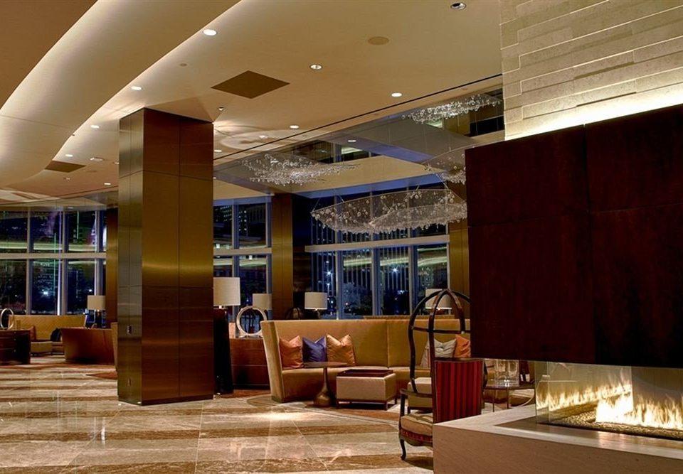 City Classic Fireplace Lobby lighting restaurant