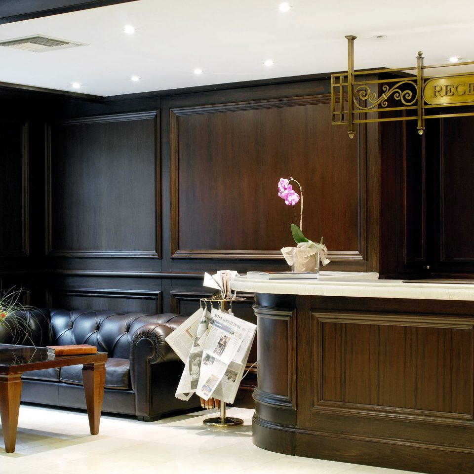 City Classic Lobby Kitchen cabinetry home