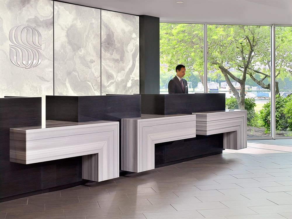 City Classic Lobby building office living room stone