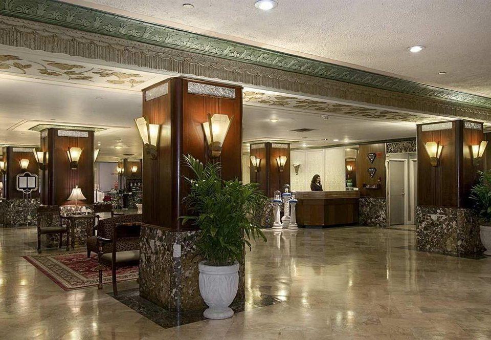 City Classic Lobby property lighting restaurant condominium