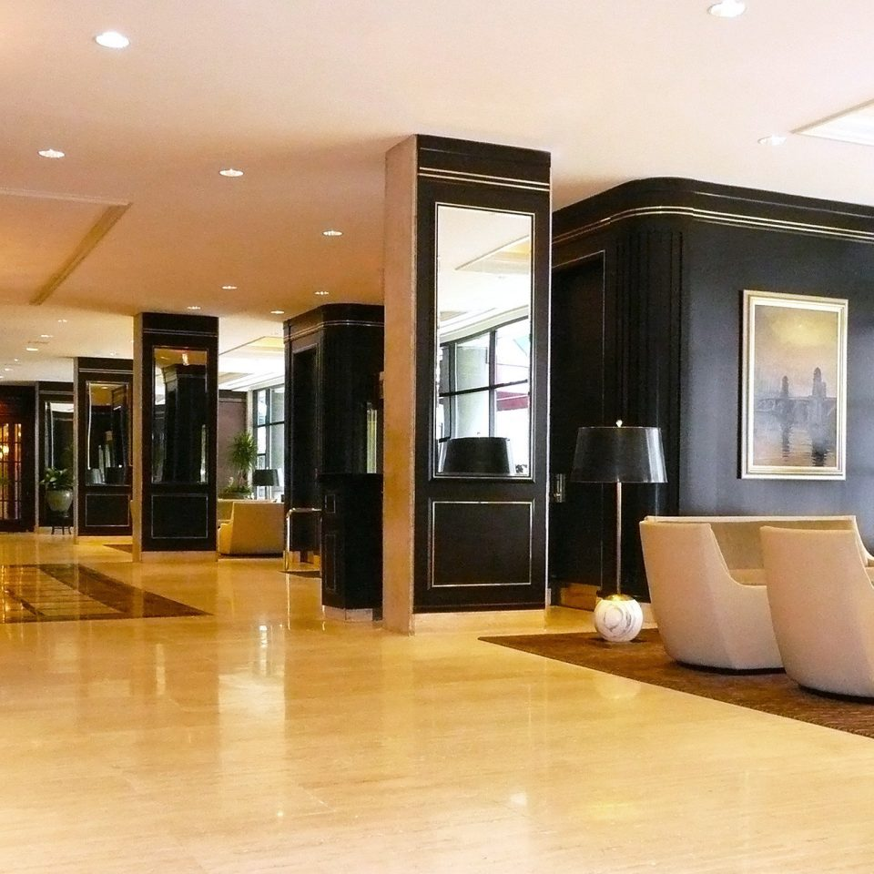 City Classic Lobby Modern property condominium living room Suite home flooring hard