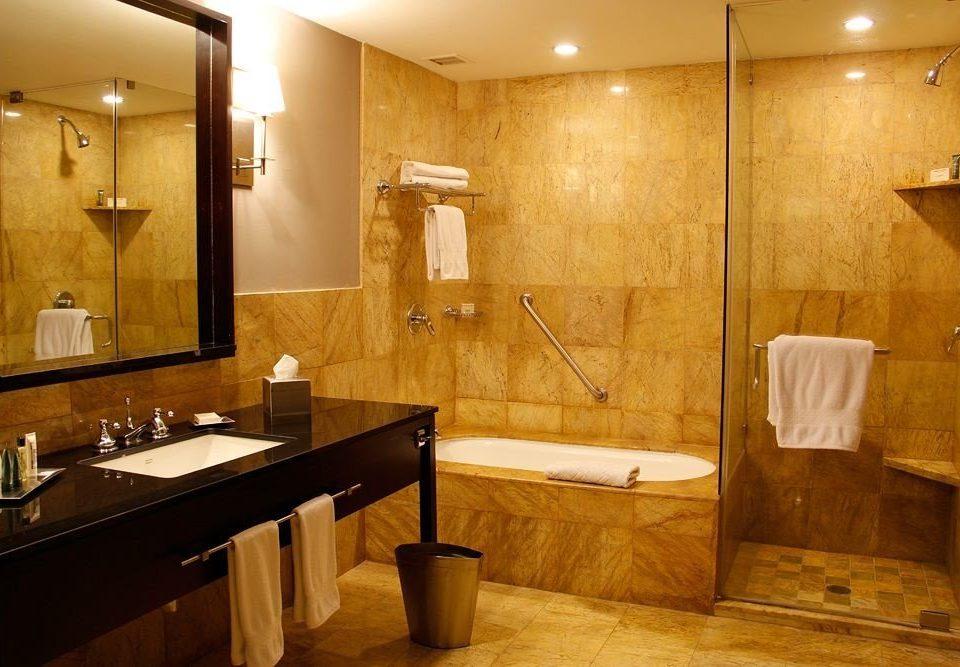 City Classic bathroom property sink plumbing fixture Suite cabinetry tan