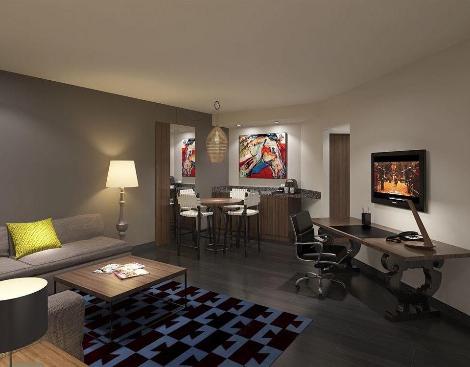 City Classic property living room home recreation room condominium loft Villa Suite cottage lamp