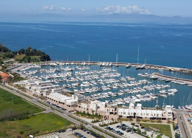 mountain marina bird's eye view aerial photography structure dock port sport venue Nature City infrastructure Coast stadium panorama Sea shore