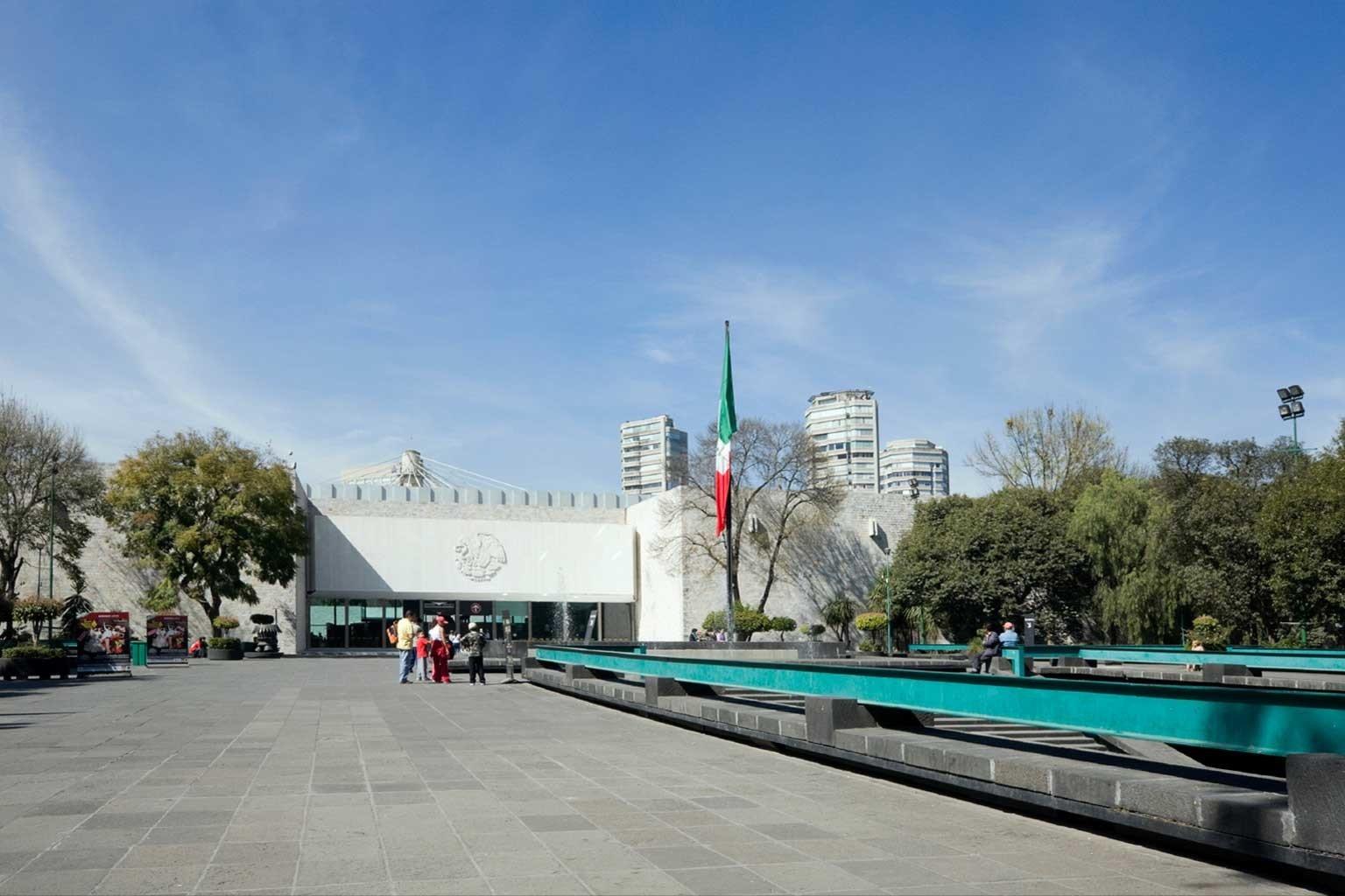 City Cultural Museums sky green walkway vehicle waterway plaza