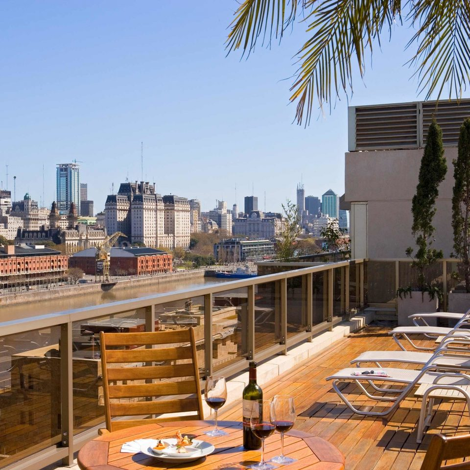 City Deck Lounge Scenic views sky plaza condominium residential area Downtown walkway