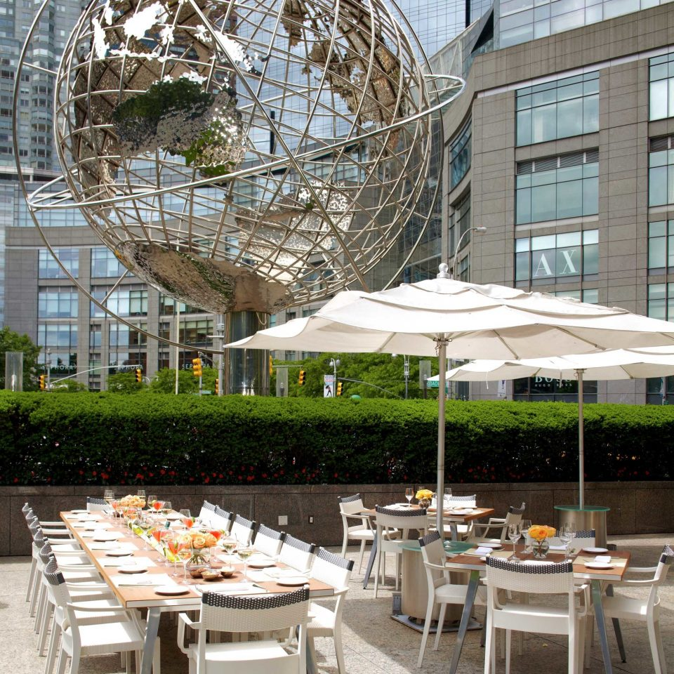 City Dining Drink Eat Elegant Luxury Outdoors building chair restaurant outdoor structure plaza