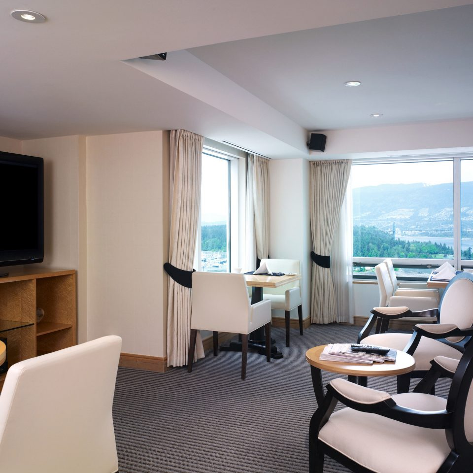 City Dining Drink Eat Entertainment Resort Scenic views Trip Ideas Waterfront chair property condominium Suite living room yacht home flat dining table